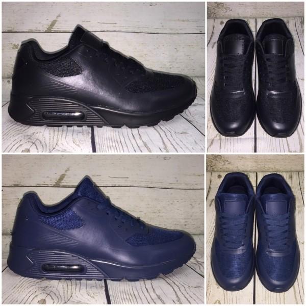 HERREN One Color print LUFT Sportschuhe / Sneakers