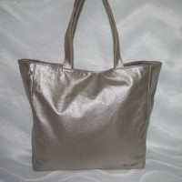 DKNY Handtasche / Shopper Silber/Grau