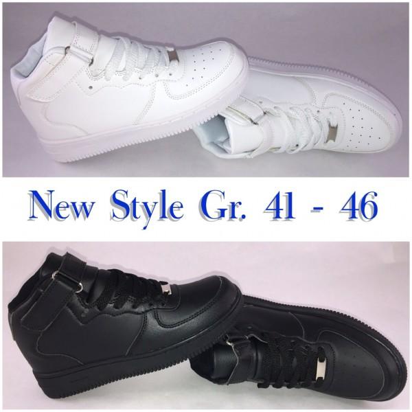 HERREN NEW Style Highcut KLETT Sportschuhe / Sneakers