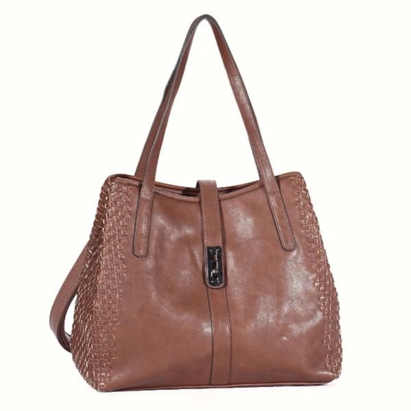 FLORA & CO Paris Handtasche TAUPE (7015)