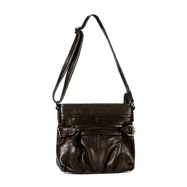 NANUCCI Paris Handtasche SCHWARZ (7649)