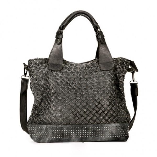 FLORA & CO Paris Handtasche SCHWARZ (7007)