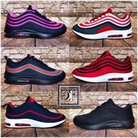 Damen Double Stripe AIR Sportschuhe Sneakers Multi Color