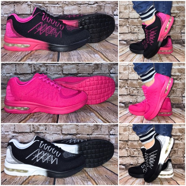 Coole 2 Color LUFT Sportschuhe / Sneakers