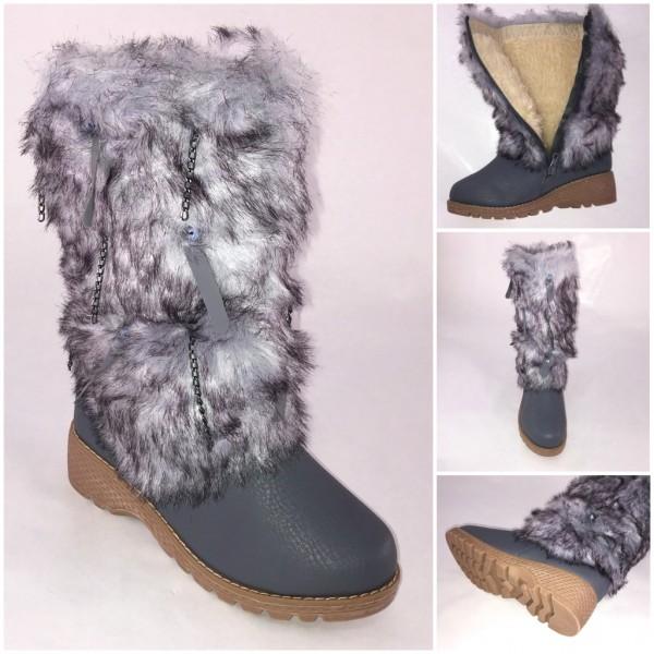 ANGEBOT* Super warme winter BOOTS / Stiefel mit Kunstfell gefüttert KETTCHEN